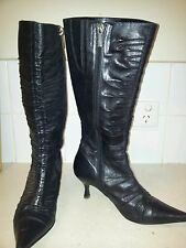 Diana ferrari knee high boots size 5