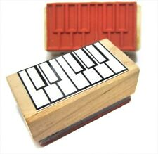 Piano Keyboard  Fingering Rubber Stamp! Great for scales, chords and fingerings!