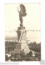 RP Unveiling Brighton & Hove Memorial to King Edward VII & pier Sussex unused