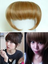 Fashion Bangs Fringe Hair Styling Extension Piece Clip in Multi-color Free Ship