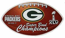 Green Bay Packers NFL Superbowl XLV Champion Licensed Car / Truck Magnet