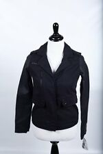 CELEBRITY PINK Juniors Jacket, Faux-Leather Studded Mixed-Media -NWT