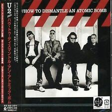 "U2 ""How To Dismantle An Atomic Bomb"" Japan CD w/OBI Japan Only Bonus Track"