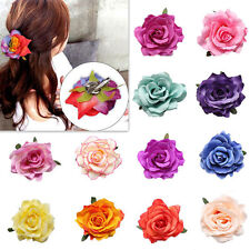 1pcs Rose Flower Hairpin Bridal Women Hair Clip Bridesmaid New Wedding Party