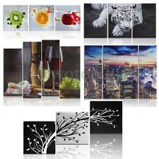 10 Types Wall Decor Art Picture Paints Canvas Oil Painting Unframed Leopard Sea