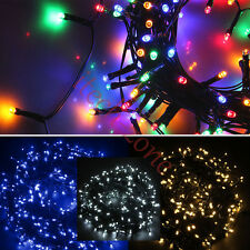 300LED Christmas Xmas Tree Fairy String Battery Powered Light Outdoor Indoor 40M