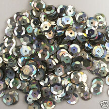 Sequins Silver Magic 5mm Round Cup ~1000 pieces or ~12,500 pieces Loose HQ