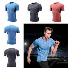 Compression Skin Under Base Layer Top Tight Short Sleeve Jersey Mens T-Shirts