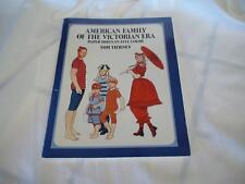 1986 Original American Family of the Victorial Era Paper Dolls Book Tierney