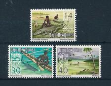 [48934] Papua New Guinea 1973 Marine life Fish Shark Fishing Crocodiles MNH