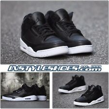 Nike Air Jordan 3 III Retro GS Black White Cyber Monday 398614-020 Grade School
