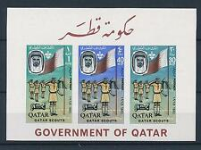 [34173] Qatar 1965 Scouting Imperforated VF MNH souvenir sheet