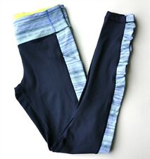 NWT Lululemon Speed Tight IV Sz 8 Inkwell Blue Space Dye Twist Lullaby Ray NEW