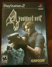 Resident Evil 4 (Sony PlayStation 2 PS2, 2005) BLACK LABEL Complete!