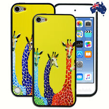 Colourful Giraffe Hard Case for Apple iPod Touch 5 5th 6 6th Gen Cover