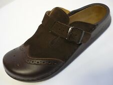 FOOTPRINTS Picadilly Birkenstock FB 41 43 44 45 46 Clogs Brown Leather Narrow