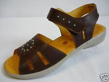 RICOSTA Keye Girls' Shoes 33 39 40 41 Leather Sandal brown new