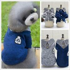 Pet Dog Cats Puppy Hoodie Coat Sweater Warm Clothes Sweater Jacket Shirt Apparel