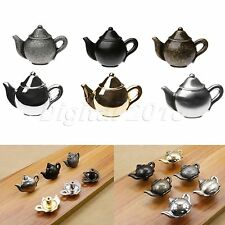 Vintage Teapot Style Pull Handle Knobs Cabinet Cupboard Chest Door Drawer Decor
