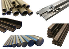Bright Mild Steel EN1A EN3B Round, Square, Flat, Tube/Pipe & Equal Angle 4-25mm
