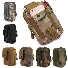 Universal Army Belt Pouch Case Cover for Mobile Phone Holster Tactical Bag Multi