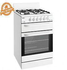 Upright Gas Cooker Oven Natural Chef 54cm Fuel Freestanding Separate Grill Stove