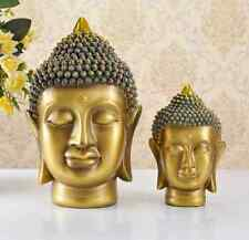 Xmas Handmade Art Home Desk Wedding Deco Sculpture Statue Figure Buddha Resin Oa