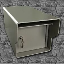 Extreme Heavy Duty High Security Locking Steel Mailbox - All welded 68 pounds!