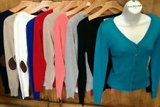 Women Multi color sweater jacket cardigan button long sleeve Ci sono Cavalini