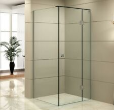 New 10mm Frameless Shower Screen 2000 High, 850/900/1000/1200/Custom size