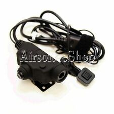 Z-Tactical U94 New Version Headset Cable & PTT for Motorola 2 Pin