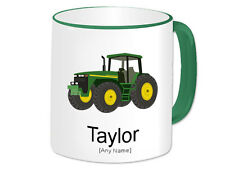 Personalised Gift Tractor Mug Cup Vehicle Farm Truck Farmer Present Novelty #2