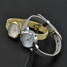 Ladies Stylish Huans Quartz Elegant Bracelet Mesh Band Wrist Watch.(Aussie)