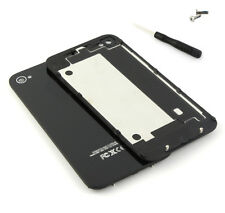 New Back Glass Replacement Housing Battery Cover Case for iPhone 4 4S +Tool