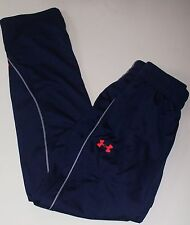 Men's Under Armour Performance UA LIGHTWEIGT WARM-UP Blue/Gray Pants SMALL NWT