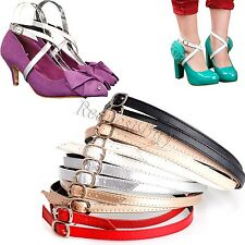 Detachable Shoe Straps Shoelace Belt Laces To hold loose high heeled shoes