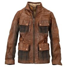 TIMBERLAND MAN EARTHKEEPERS ELITE LEATHER ABINGTON JACKET | NWT | S | MSRP $ 899