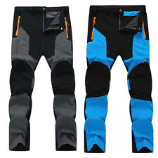 Outdoor Sports Overalls Mens Snowboard Pants Waterproof Hiking Climbing Trousers