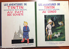 Black & White Tintin 1st Editions Congo & Soviets BUY INDIVIDUAL Herge EO First