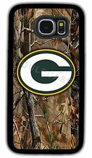TREE CAMO GREEN BAY PACKERS CASE FOR SAMSUNG NOTE GALAXY S4 S5 S6 S6 S7 EDGE +