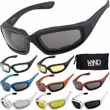 WYND Blocker Motorcycle Riding Glasses & Water Sports Fishing Boating Sunglasses