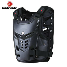 Size S-XL Dirtbike Off-Road Motocross Body Armor Back Guard Chest Protector Gear