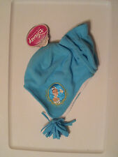 New-Toddler-Girl-Hat-&-Mitten-Set-Disney-Princess-Tiana-Teal-Pink-Embroidered