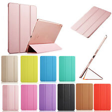 Smart Stand Sleep/Wake Magnetic Leather Case Cover For iPad Air 4 3 2 Mini
