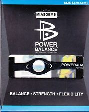 POWER BALANCE NEGATIVE ION ENERGY BRACELET - BLACK