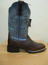 ARIAT - Women's Quickdraw - Brown Oiled Rowdy / Sapphire - ( 10004720 ) -  New