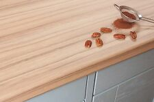 Coco Bolo Laminate Kitchen Worktops 38mm, Wood Effect, Edging Included