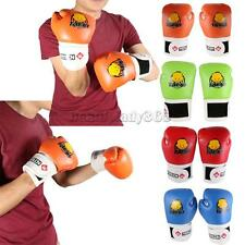 Kids Children Kickboxing Training Punching Bag Boxing Gloves Muay Thai Gloves