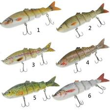 Multi Jointed Spinning Carp Bass Fishing Lures Fish Bait Tackle Hooks Crankbaits