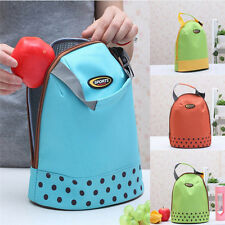 Thermal Insulated Lunch Container Box Tote Cooler Bag Pouch Food Storage Bags g0